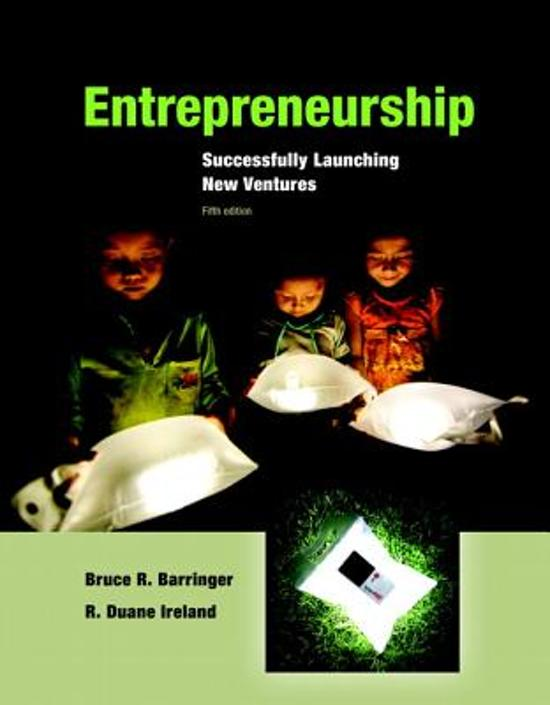 entrepreneurship bruce barringer The four parts, which collectively contain 15 chapters, are: the decision to become an entrepreneur  bruce r barringer, r duane ireland no preview available - 2015.