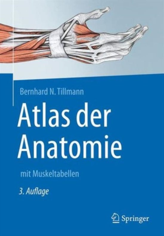 bol.com | Atlas Der Anatomie Des Menschen, Bernhard N Tillmann ...
