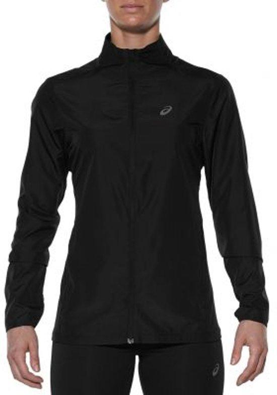 asics Jacket hardloopjas Dames zwart Maat XL