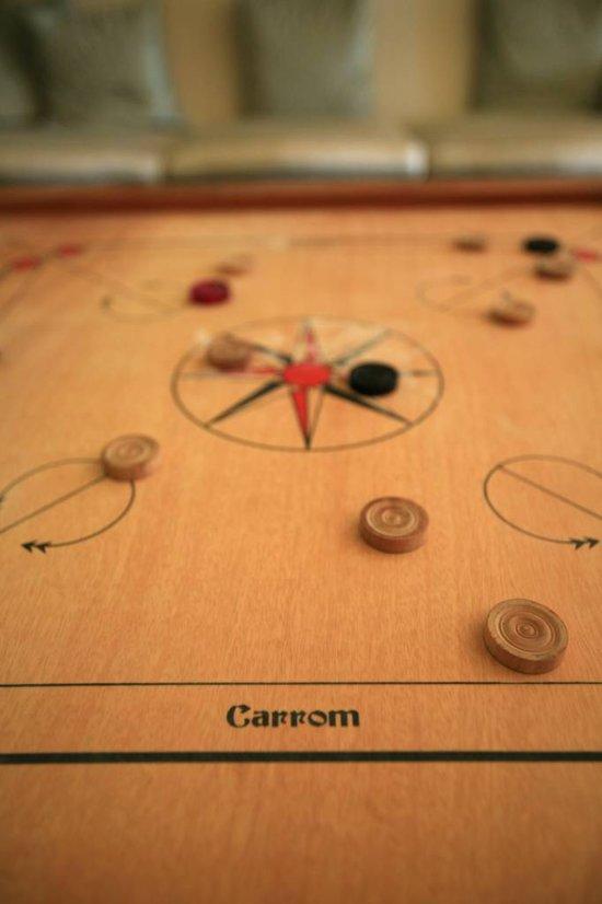 Carrom, ECO hardhout, Officiële wedstrijdmaat-Carrom Spel