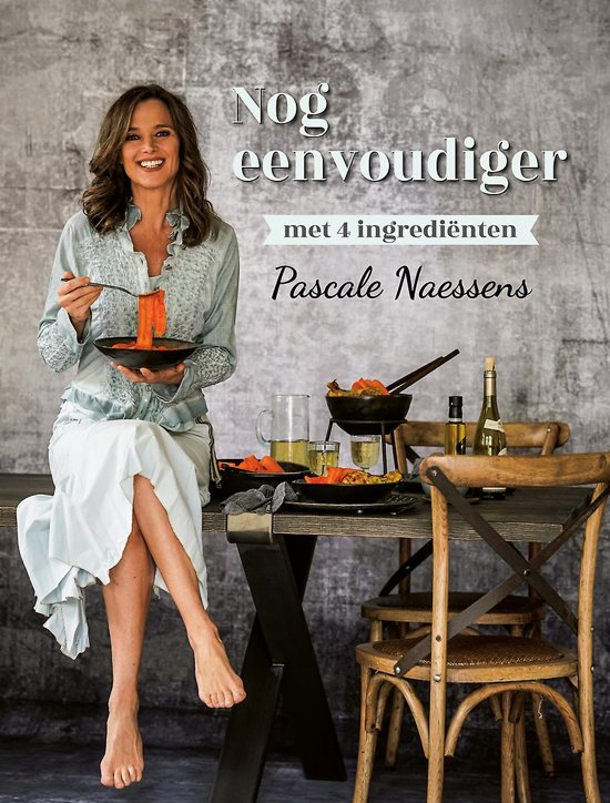 Boek cover Nog eenvoudiger met 4 ingrediënten van Pascale Naessens (Hardcover)