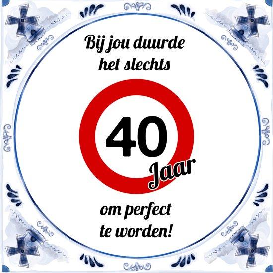 Verjaardag 40 Jaar Spreuken