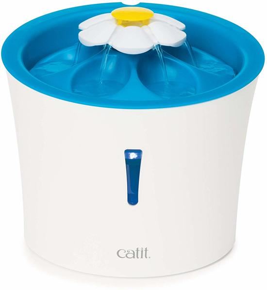 Cat-It Senses 3.0 Flower - Drinkfontein Kat - Wit/Blauw - 3 L