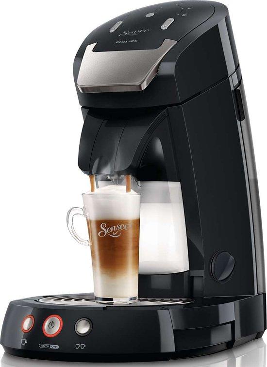philips senseo latte select hd7854 60 koffiepadapparaat zwart. Black Bedroom Furniture Sets. Home Design Ideas