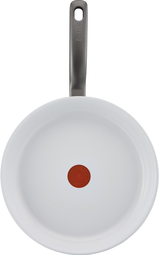 Tefal Ceramic Control White Induction Koekenpan 28 cm