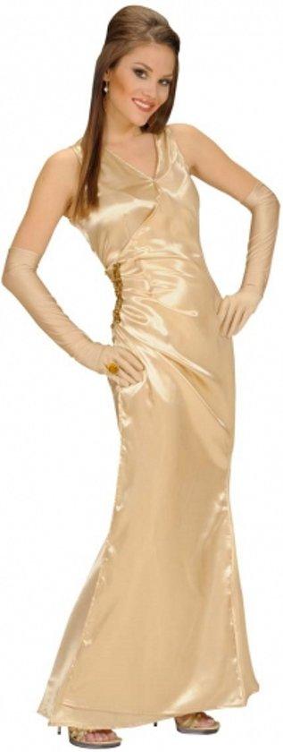 gouden jurk