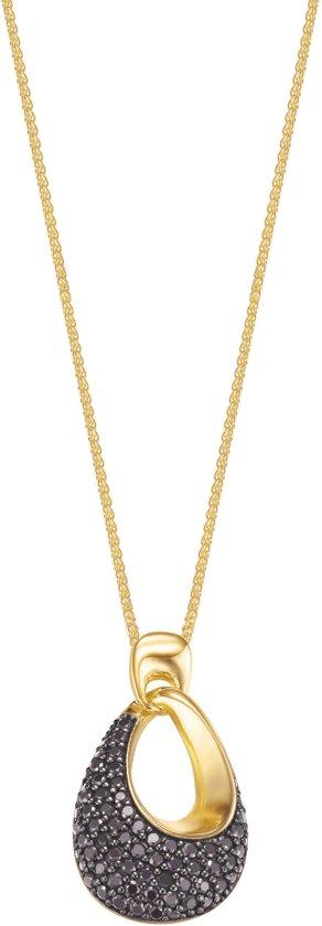 Esprit dms collier Medea black gold