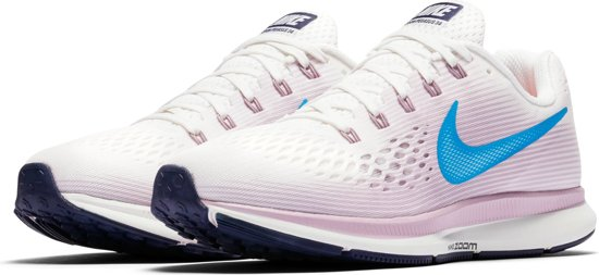 info for 21da8 60135 Nike Air Zoom Pegasus 34 Hardloopschoenen Dames - Grijs