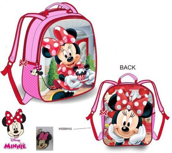 cf8cd914e60 bol.com   Minnie Mouse rugzak 32cm glitter / 2 zijdes draagbaar!