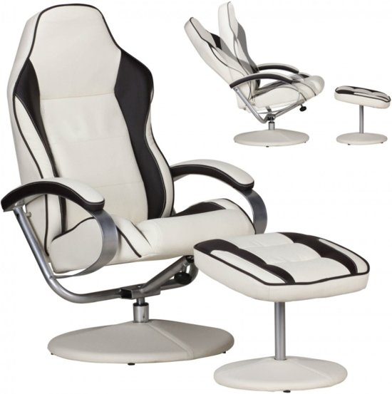 Relax Fauteuil Creme.24designs Indiana Racer Ii Game Relax Fauteuil Creme Bruin
