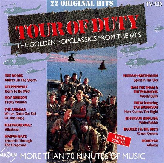 CD cover van Tour of Duty van various artists
