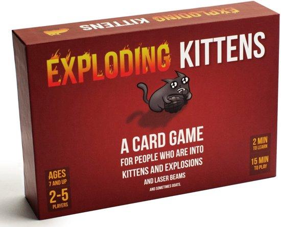 Afbeelding van Exploding Kittens Original Edition - Engelstalig speelgoed