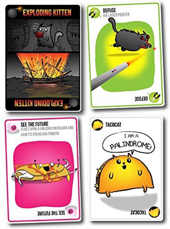Thumbnail van een extra afbeelding van het spel Exploding Kittens (Original Edition) - Engelstalig kaartspel