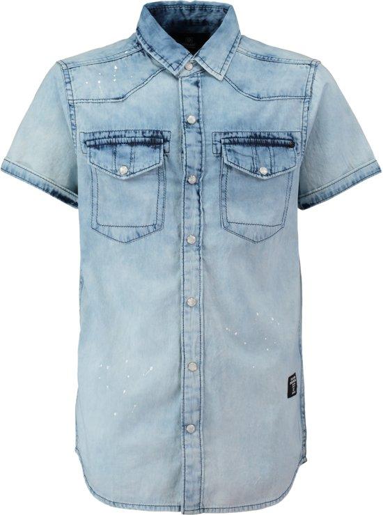 Blouse Of Overhemd.Bol Com Coolcat Blouse Overhemd Hshorty Blauw 110 116