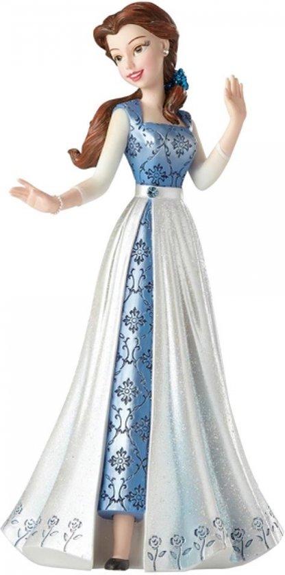 Disney Beeldje Showcase Couture De Force Collectie Belle Blue Dress Afbeelding 1 Van 2