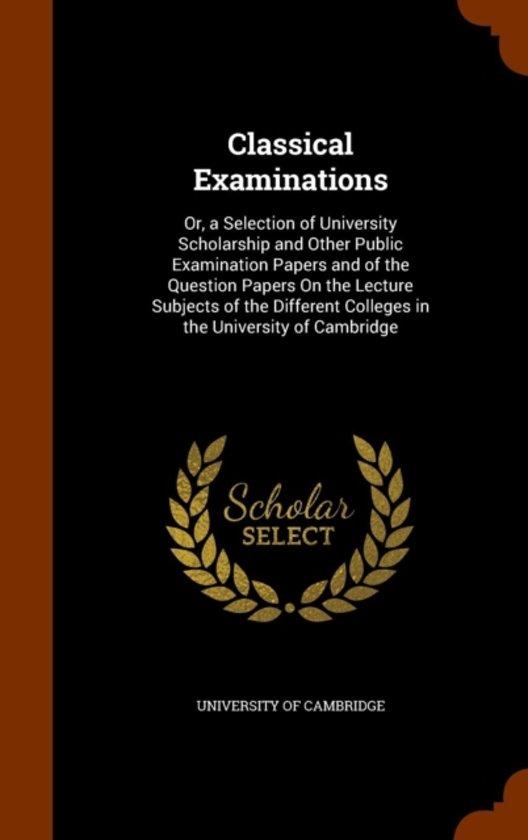 Classical Examinations