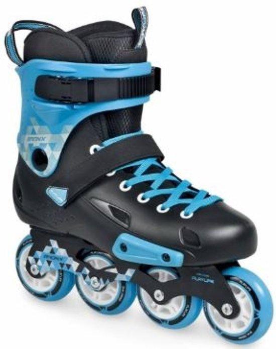 Playlife Inline Skates Bronx Ii Unisex Zwart Blauw Maat 38
