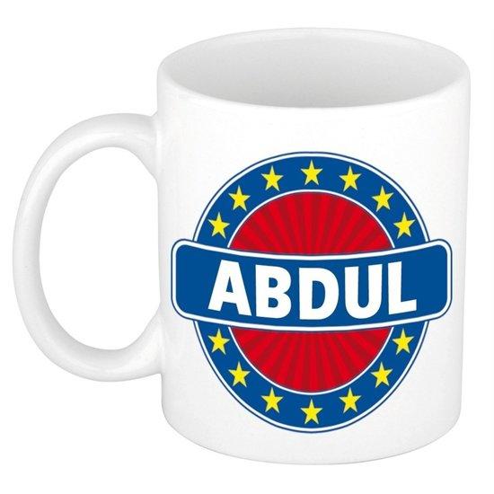 Abdul naam koffie mok / beker 300 ml  - namen mokken