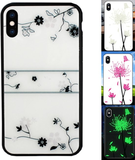 BackCover Magic Glass voor Apple iPhone Xs Max Roos