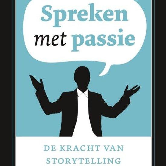 Boek cover Spreken met passie van Henk Jan Kamsteeg (Onbekend)