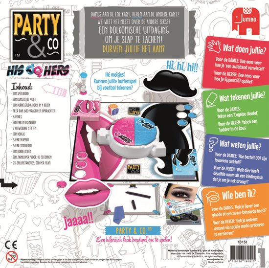 Party & Co His & Hers strijd der sekse