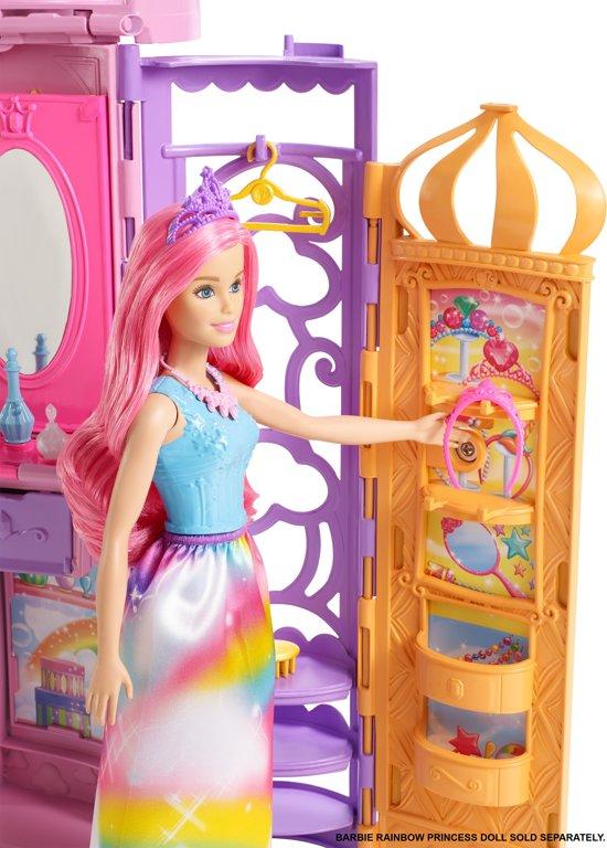 Barbie Dreamtopia Draagbaar Kasteel - Barbiehuis