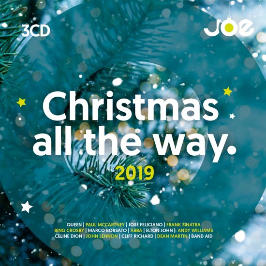 CD cover van Joe Christmas All The Way 2019 van Joe