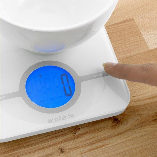 Brabantia Essential Keukenweegschaal Digitaal - Wit