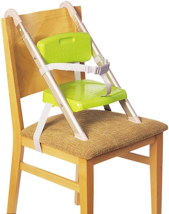 Kinderzitje Voor Op Stoel.Litaf Hang N Seat Kinderstoel Groen