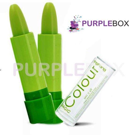 Magic colour lipbalsem, per 2 stuks