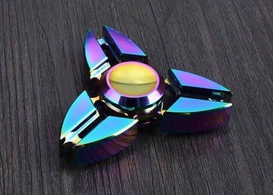 FIDGET SPINNER METAAL 3 BLADE
