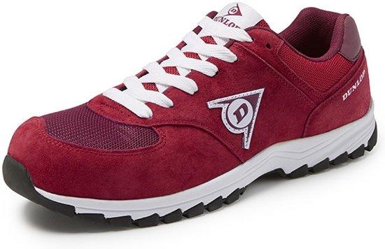Dunlop Shoes Flying Arrow Rood Lage Veiligheidssneakers S3 Uniseks 36