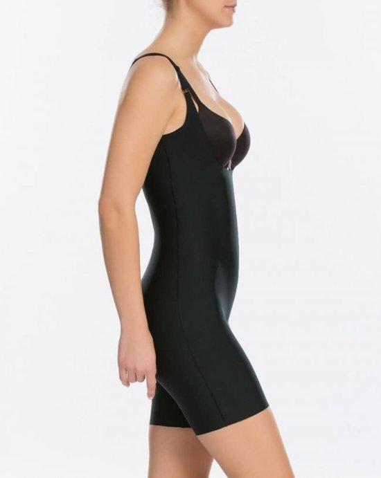 Mid thigh Zwart SpanxDames Open Thinstincts S Bodysuit bust WY9EDH2I