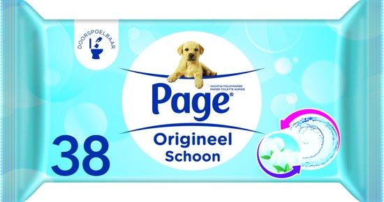 Page Vochtig Toiletpapier.Page Fresh Vochtig Toiletpapier 12 X 38 Stuks