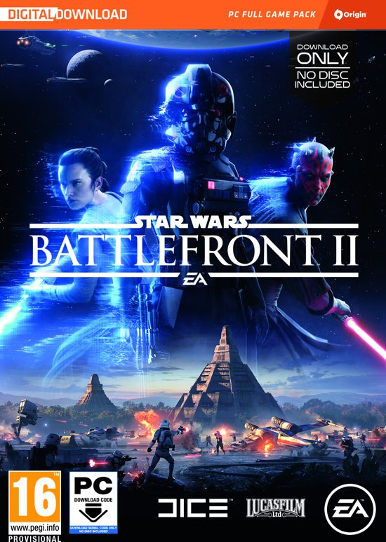 Star Wars Battlefront II - Windows - Code in a Box