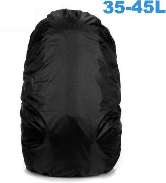68bc519997b Flightbag Regenhoes Waterdicht voor Backpack Rugzak - 35-45 Liter Regenhoes  – Zwart