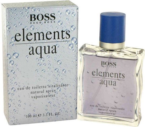 hugo boss elements aqua 100 ml eau de toilette. Black Bedroom Furniture Sets. Home Design Ideas