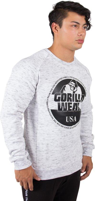 Gorilla SweatshirtMixed Wear Crewneck L Bloomington Gray A5c34RjqSL