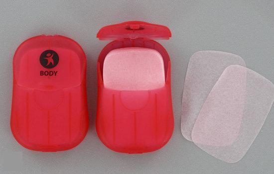 4-TRAVEL Zeepblaadjes Lichaamszeep