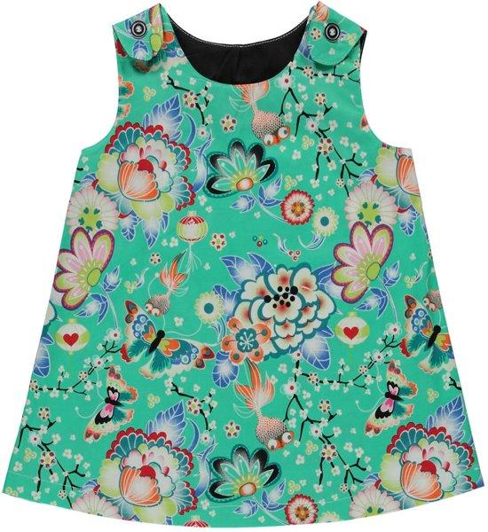 Babykleding Print.Bol Com Melkofpuur Babykleding Zomerjurkje Groen Met Chinese