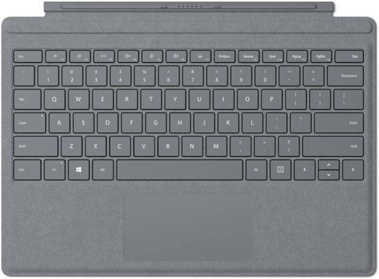 Surface Go Type Cover - Platinum