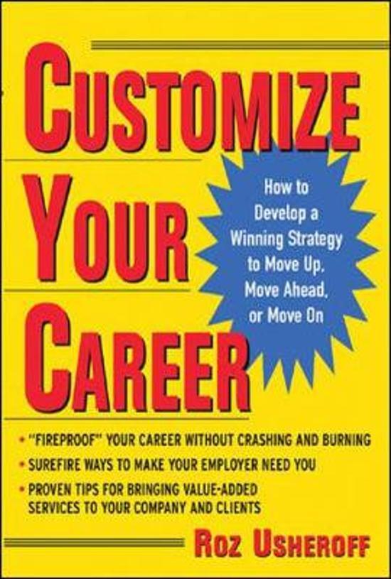 Customize Your Career