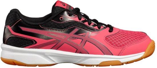 bf9e2466d1f Asics Upcourt 2 (GS) indoorschoenen Junior Sportschoenen - Maat 32.5 -  Unisex - rood