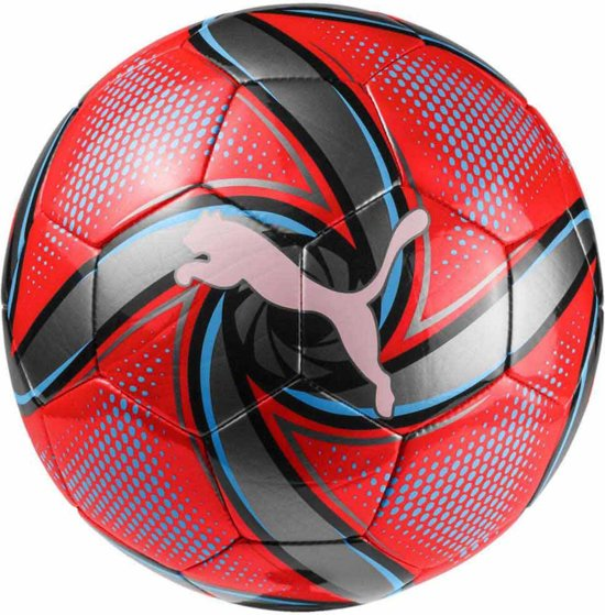 PUMA Future Flare Ball Voetbal Unisex - Red Blast / Bleu Azur / Puma Black