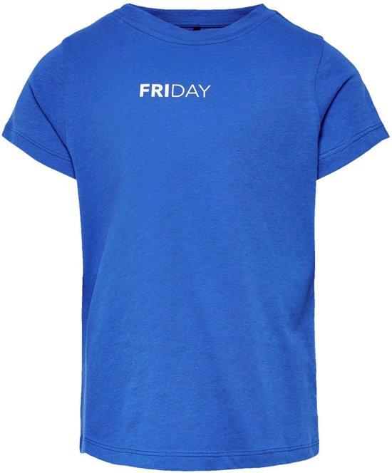 4dbf6d28 bol.com   Kids Only t-shirt meisjes - blauw - KONsound - maat 146/152