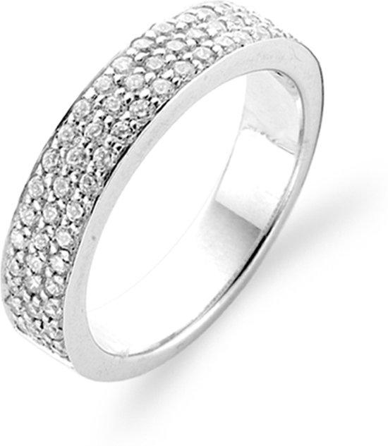 TI SENTO Milano Ring 1401ZI - Maat 60 (19 mm) - Gerhodineerd Sterling Zilver