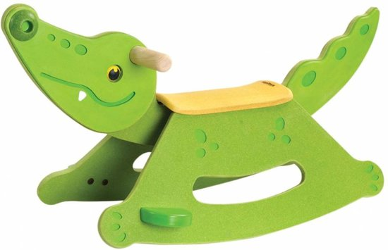 PlanToys Rocking Alligator Hobbeldier