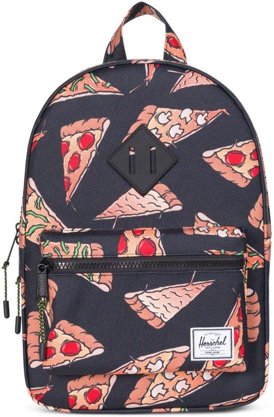 84a4d429c49 bol.com | Herschel Supply Co. Heritage Kids - Rugzak - Black Pizza