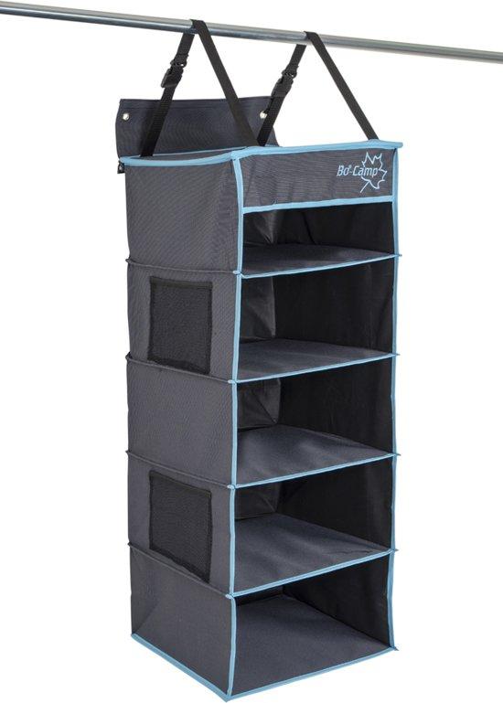 Bo-Camp Organizer - 5-vaks - Multifunctioneel - 34x34x85 Cm
