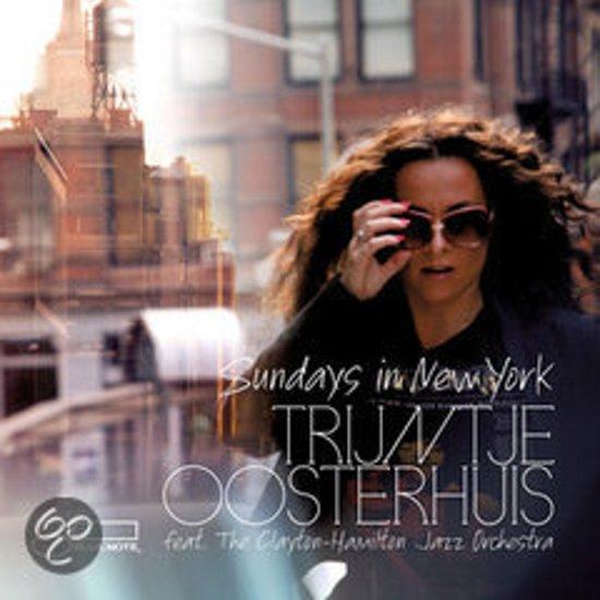CD cover van Sundays in New York van Trijntje Oosterhuis